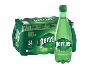 Perrier Carbonated Water Bottle
