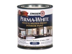 Zinsser Perma-white mold and mildewproof interior paint