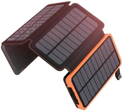 ADDTOP Portable Solar Power Bank Kit