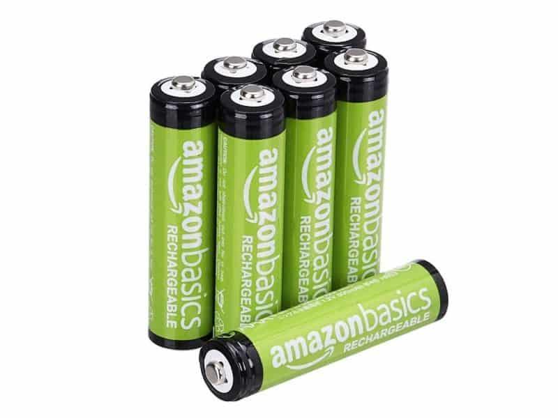 Amazon Basics Rechargeable AA Batteries