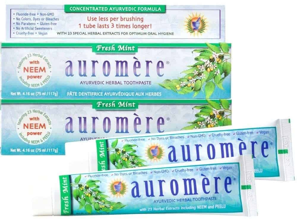 Auromere Ayurvedic Mint Herbal Toothpaste
