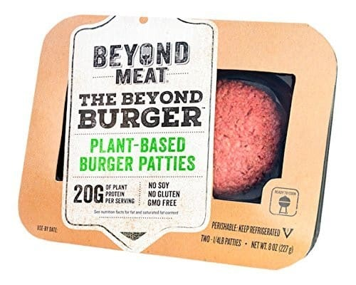 Beyond Burger Plant-Based Burger Patties
