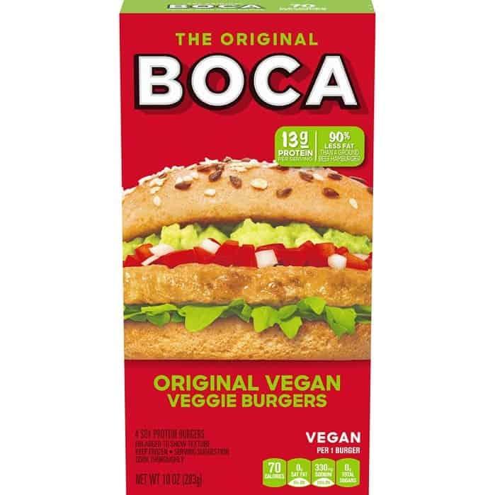 Boca Original Vegan Turk'y Burgers
