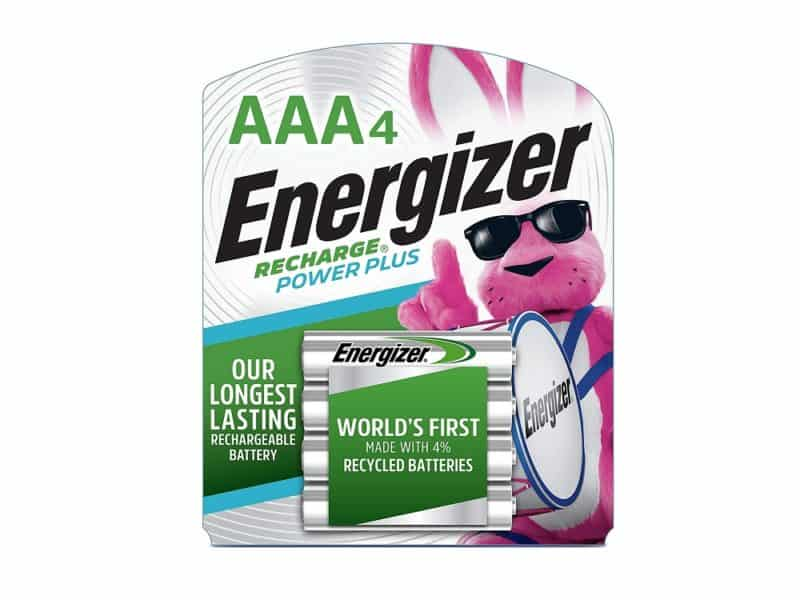 Energizer Recharge Power Plus AAA Batteries