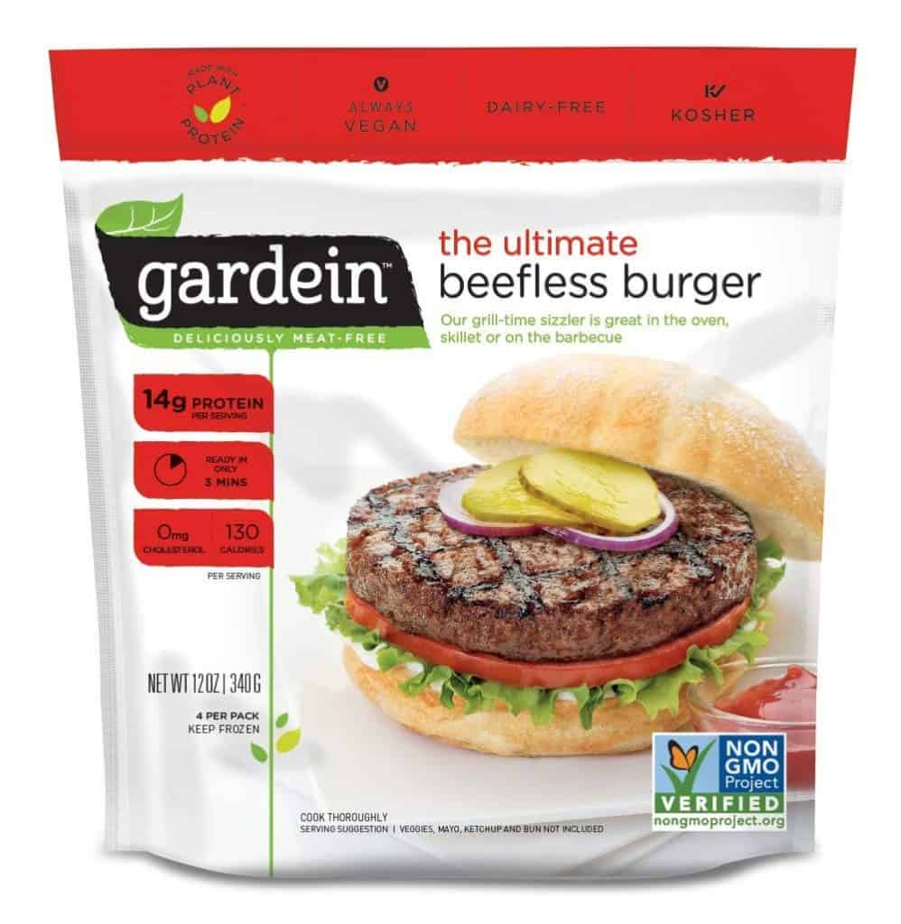 Gardein Ultimate Beefless Burger Patties