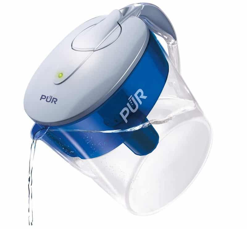 PUR CR1100CV Classic 11 Cup Pitcher Water Filter