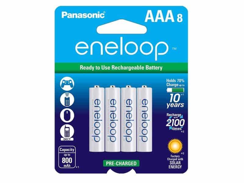 Panasonic Eneloop AAA Batteries