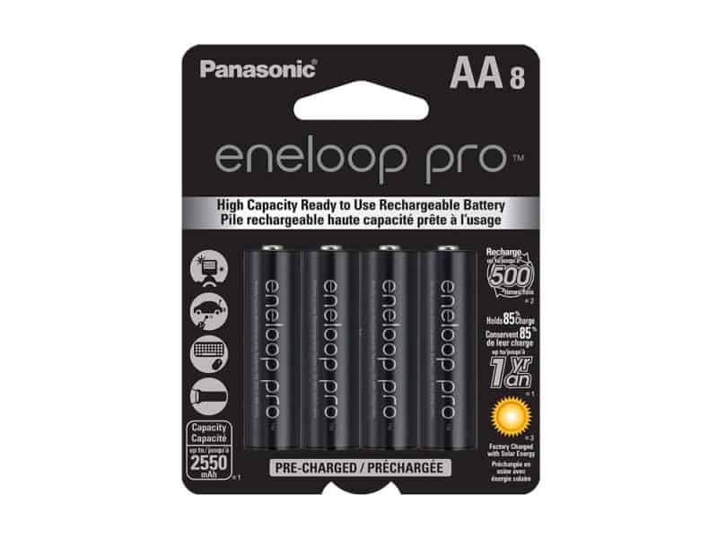 Panasonic Eneloop Pro Batteries