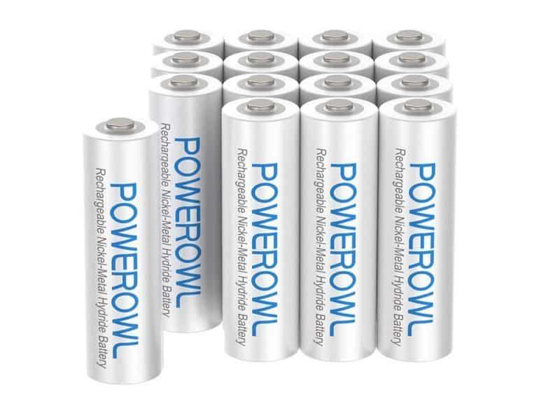 Powerowl Rechargeable AAA Batteries