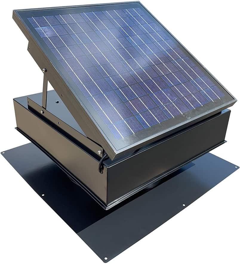 Remington 30W Solar Attic Fan