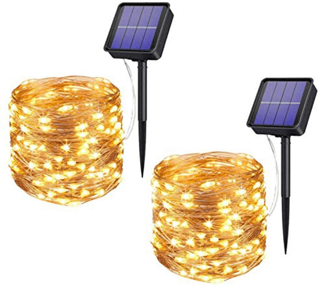 Xmifer Solar Fairy Lights