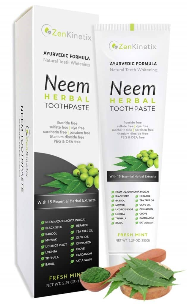 Zenkinetix Neem Herbal Toothpaste