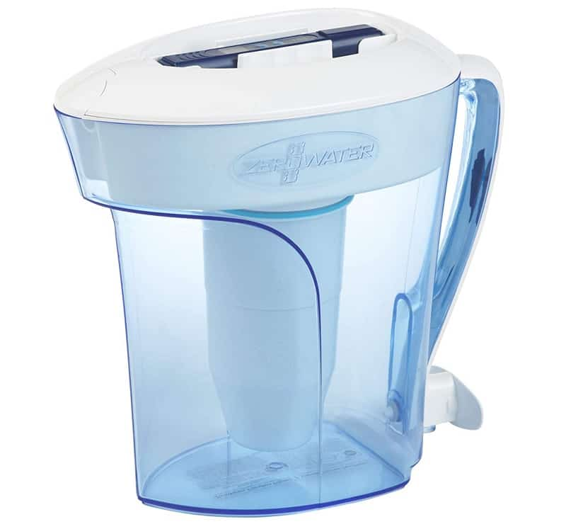 ZeroWater ZP-010 10-Cup Water Filtering Pitcher