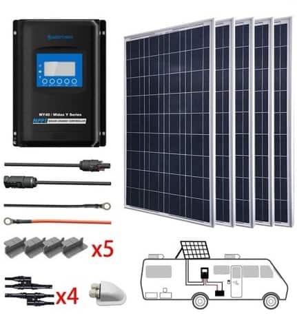 ACOPOWER 500 Watts Kit
