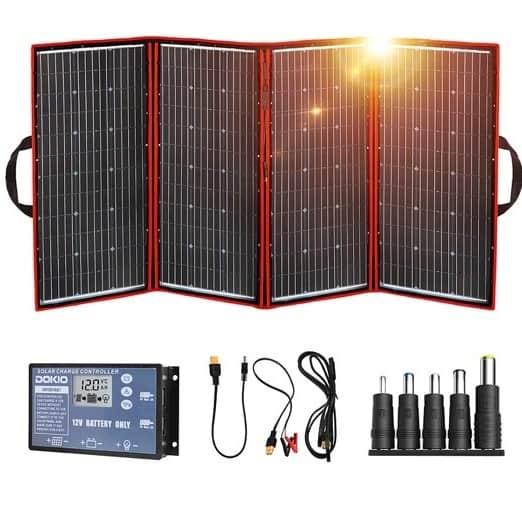 DOKIO 300W Portable Solar Panel Kit