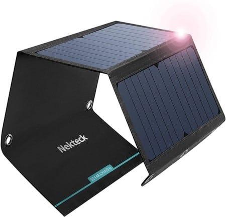 NekTeck Portable Solar Panel