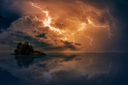 Supply Faliure Due to Lightning