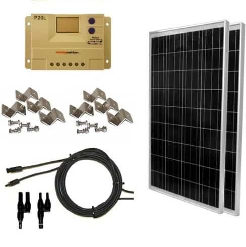 WindyNation 200 Watt Kit